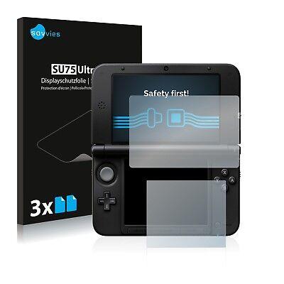 6x Displayschutzfolie Nintendo 3DS XL SPM7800 Schutzfolie Folie Displayfolie