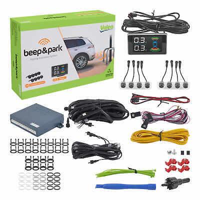 Valeo Einparkhilfe Beep&Park Kit 3 mit 8 Sensoren und LCD Display Vorne & Hinten
