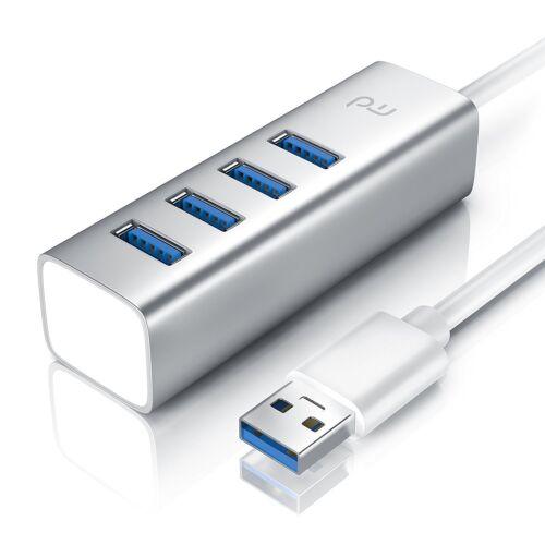 4 Port USB 3.0 Super Speed USB HUB - Kabel Verteiler Adapter USB 2.0 kompatibel