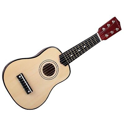 Simon AG-22R Kindergitarre kleine Kinder Holzgitarre 53cm Spielzeug-Gitarre