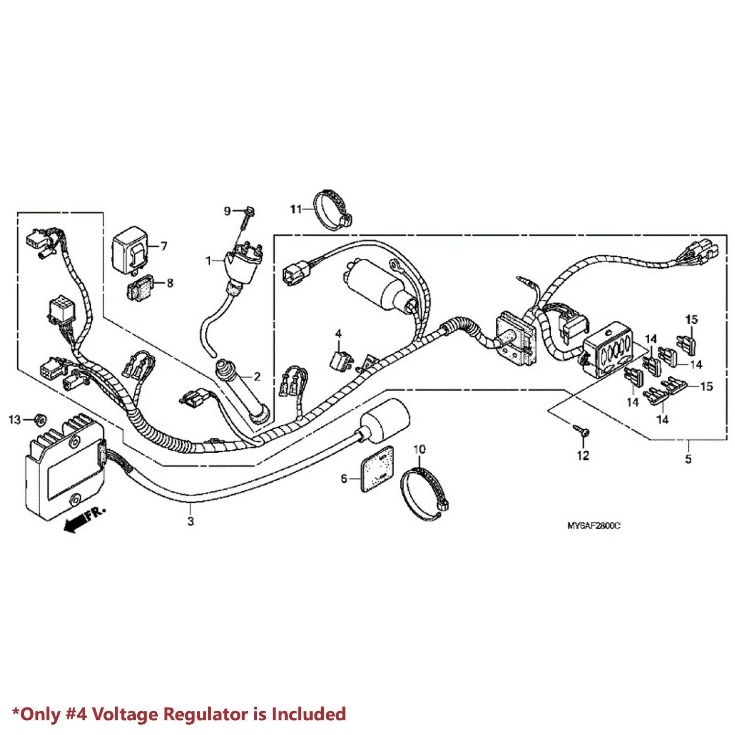 Honda Xr650l Wiring Harness Diagram