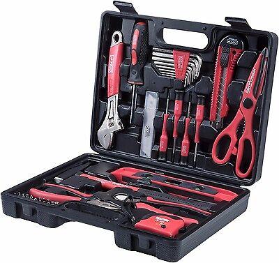 CONNEX Werkzeugkoffer 44-teilig Kunststoff-Koffer, Haushalt und Hobby