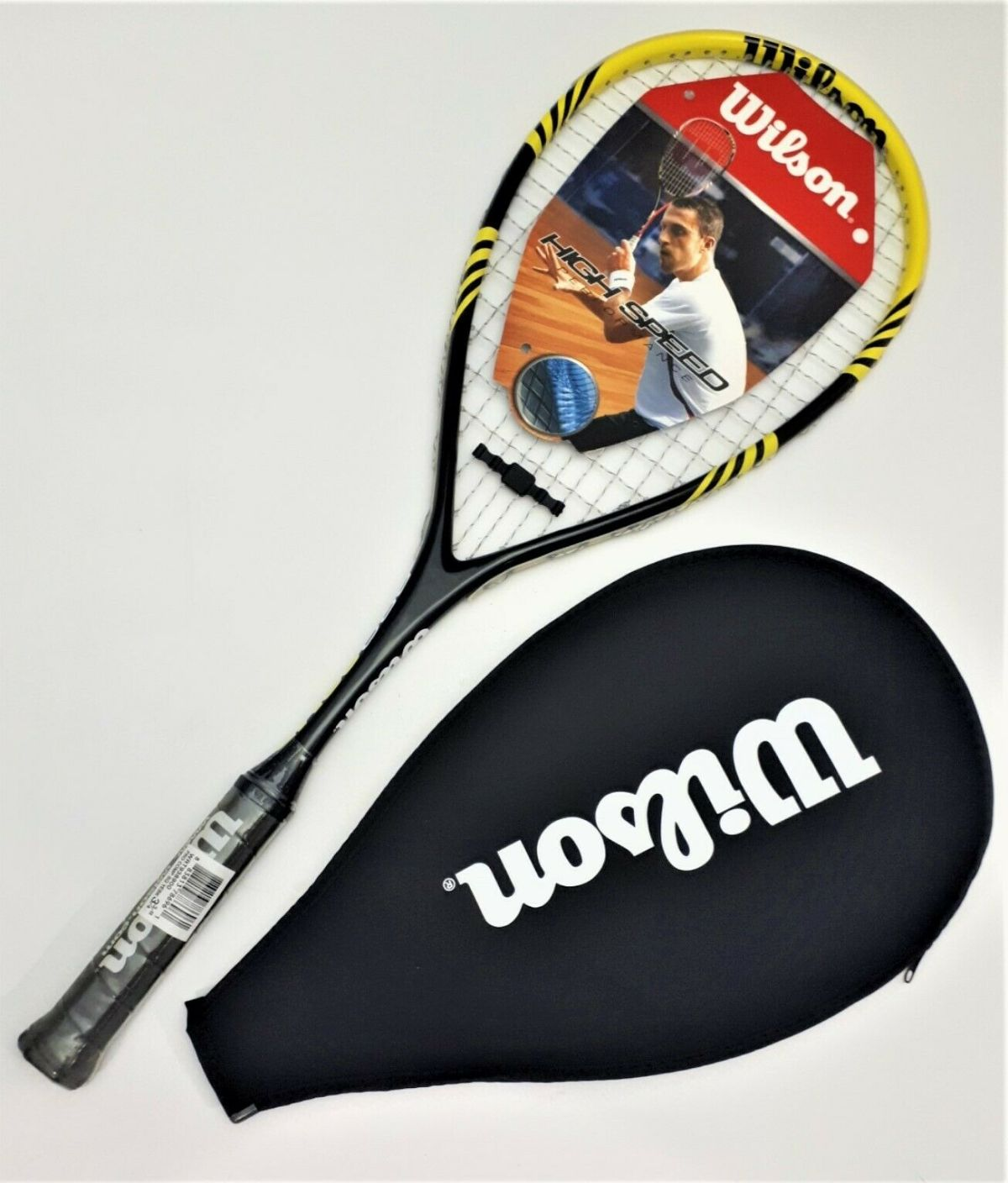 Wilson PRO Comp Squash Schläger High Speed Performance Power Squashracket