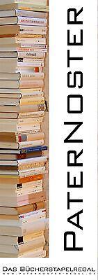 PATERNOSTER WANDREGAL  Bücherstapelregal  Bücherregal PATERNOSTER DUO ART WORKS