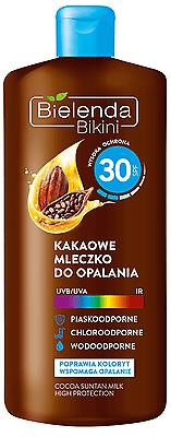 (6,00€/100ml) BIELENDA BIKINI Kakao Sonnencreme LSF 30 UVA/UVB 200 ml