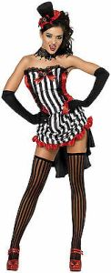 Fever Madame Vamp Costume Sexy Saloon Girl Can Can Girl Rockettes 32953