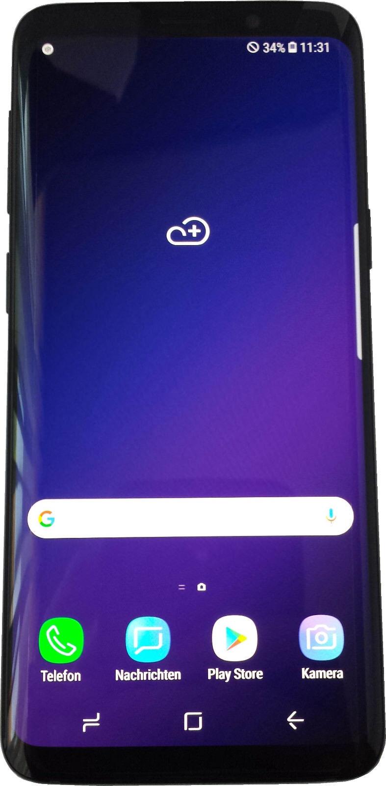 Samsung Galaxy S9 Dual SIM 64GB schwarz ohne Simlock Android original versiegelt