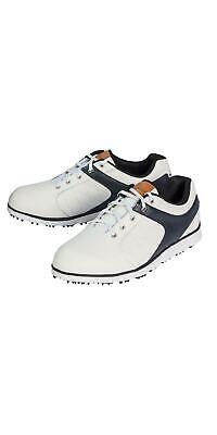 CRIVIT®PRO Herren Leder-Golfschuhe weiß Gr. 42 Golf Sport