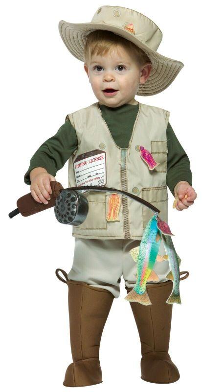 Rasta Imposta Future Fisherman Fishing Toddlers Kids Halloween Costume GC9760