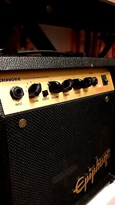 ️ Epiphone Studio Practice Guitar Amp Amplifier - VINTAGE Sound Rock Amplifier