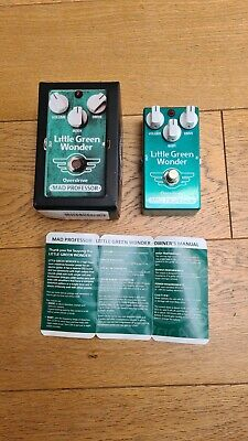 Mad Professor Little Green Wonder Overdrive Pedal PCB version. Great condition.