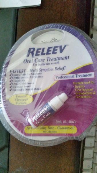 RELEEV Oral Care Treatment 0.10 oz