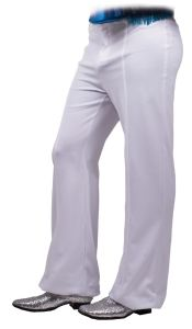 Bellbottom Disco Pants Black Or White 1970s Seeing Red 80111