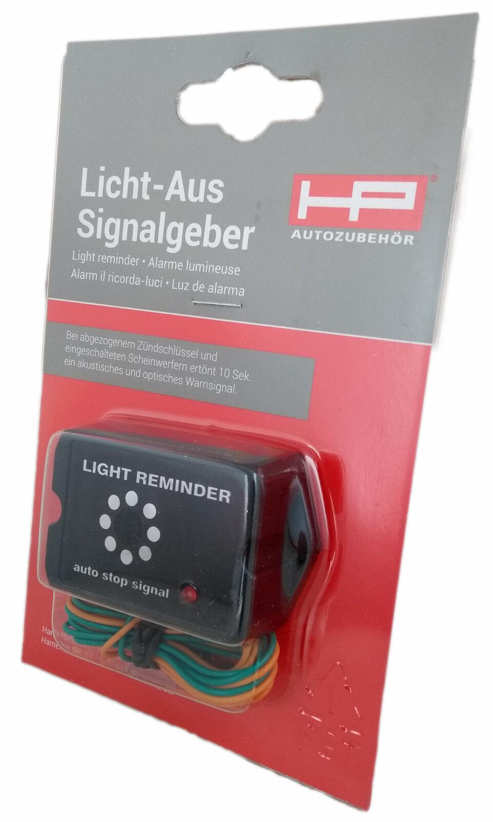 Licht Aus Kontrollsignalgeber Lichtwarner 12V HP Autozubehoer 28140
