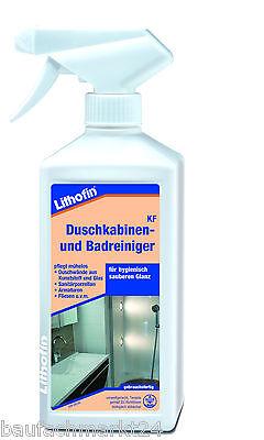 Lithofin KF Duschkabinenreiniger & Badreiniger 500 ml Duschreiniger