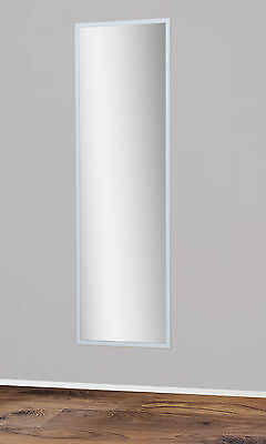 Spiegel Wandspiegel Badspiegel Garderobenspiegel 175x55 cm Rückwand Weiß