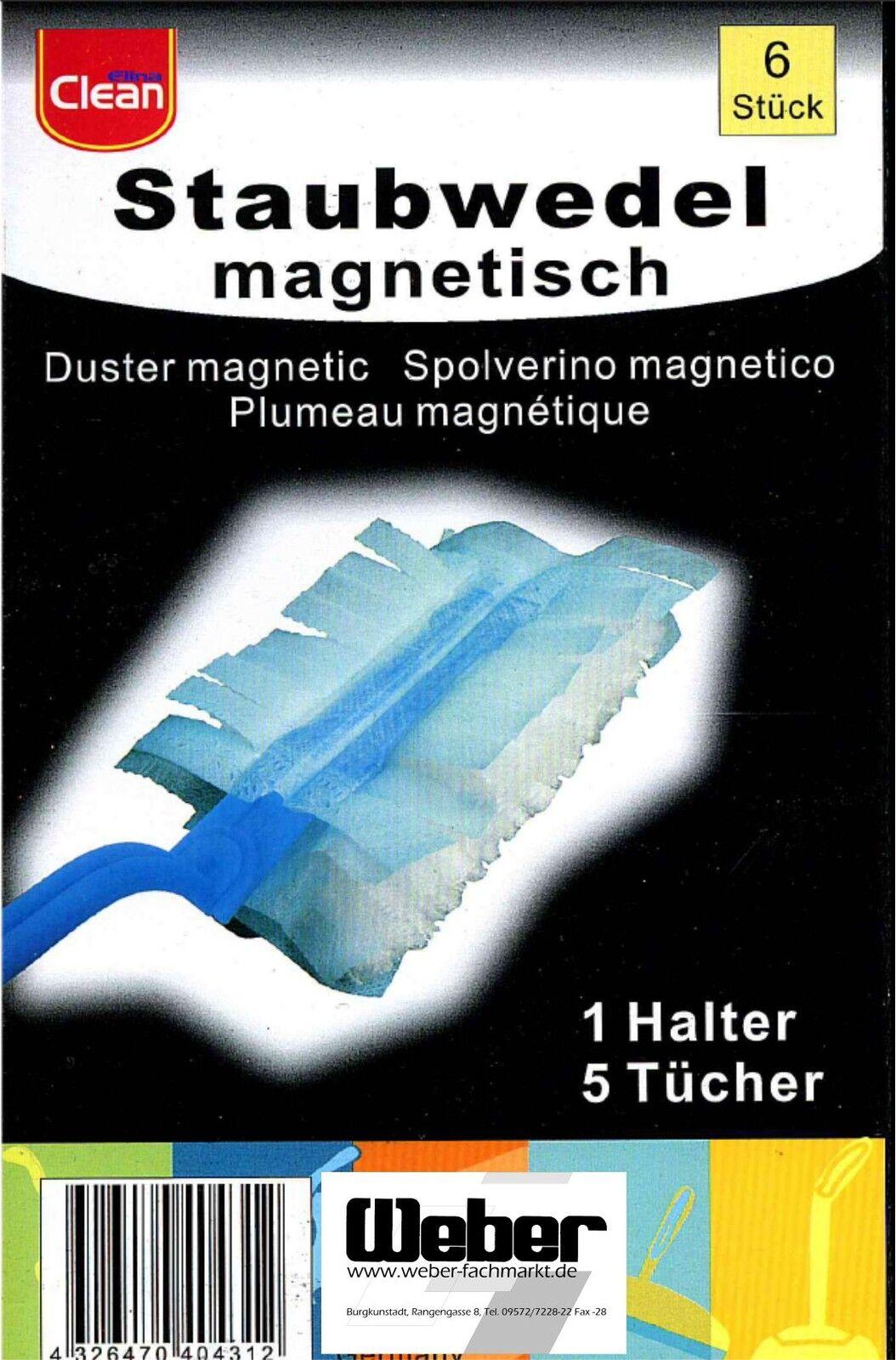 15 x Staubwedel + 3 x Halter Staubmagnet Staubwischer