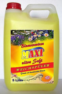 4 x 5Liter Weichspüler Blumenwiese *kostenloser Versand*