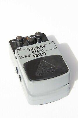 Behringer VD400 Vintage Delay Guitar Pedal