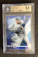 2017 Topps Finest Aaron Judge Blue Refractor 123/150 BGS 9.5 Gem RC Yankees