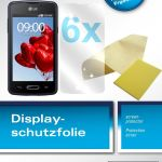 6x Lg L50 Schutzfolie Klar Displayschutzfolie Folie Aldi Sud Ecultor Ebay