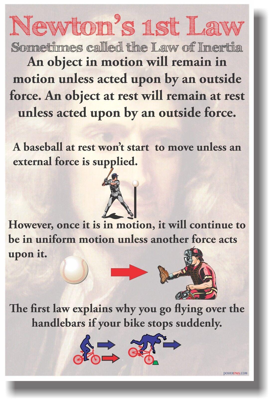 Newton S 1st Law