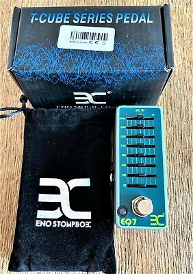 Guitar Effects Pedal. 7 Band EQ Pedal. Ammoon ENO EX EQ7. Hardly Used. Perfect.
