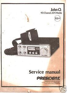 Cb Manual Radio Schematic Servicing  getrb