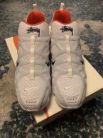 Nike x Stussy Air Zoom Spiridon Cage 2 Kukini CJ9918-100 White Shoes Size 9.5