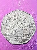 uncirculated 1994 D Day landings 50p Coin