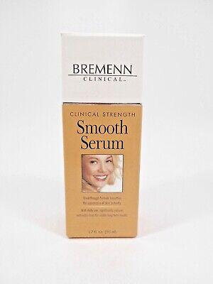 Bremenn Smooth Serum Clinical Strength 1.7 fl.oz Skin Anti Aging Free Shipping!