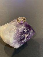 Vintage 14k Gold Gemstone Amethyst Ring Size: 5