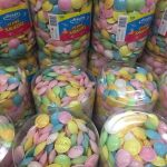 Frisia Flying Saucers Tub Of 500 Ufo Sweets Sherbet Filled Children S Party Ebay