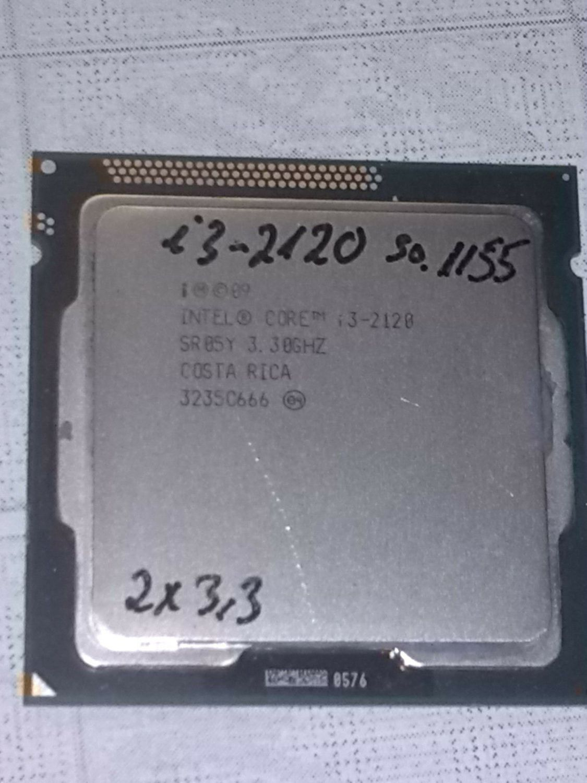 PC Prozessor / CPU Intel Core i3-2120 / SR05Y 2x 3,3 GHz Sockel 1155 3MB Cache