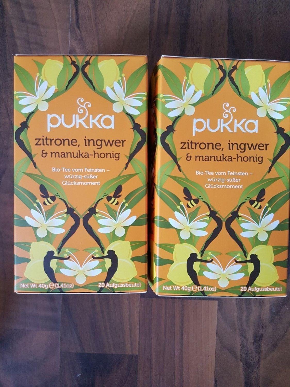 Pukka Zitrone Ingwer Manuka-Honig Bio Tee Teebeutel 2x 20 Beutel Neu