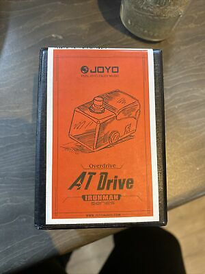 JOYO JF-305 AT Drive Overdrive Ironman Guitar Effects Pedal