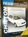 1998-2005 VW PASSAT AUDI A4 CHILTON REPAIR MANUAL SERVICE REPAIR SHOP TURBO