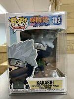 Funko POP! Animation: Naruto Shippuden KAKASHI Figure #182 w/ Protector