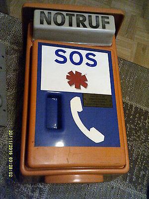 NRT 21 Notruftelefon - Notrufsäule orig. mit Herkunftsnachweis/Versandkosten