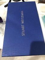 Stuart Weitzman Patent and leather  Sling Back Heel Shoes Sz 9