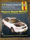 Haynes VW Passat 1998-2005, Audi A4 1996-2001 Repair and Service Manual 96023