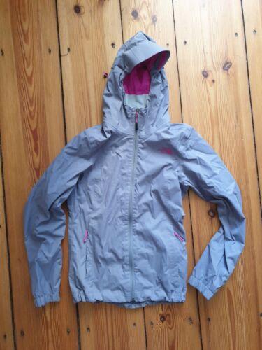 Tolle, grau pinke Regenjacke Windbreaker The North Face Damen, Gr. XS, 34