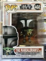 Funko POP! Star Wars The MANDALORIAN w/ The CHILD #402 w/ Protector IN STOCK
