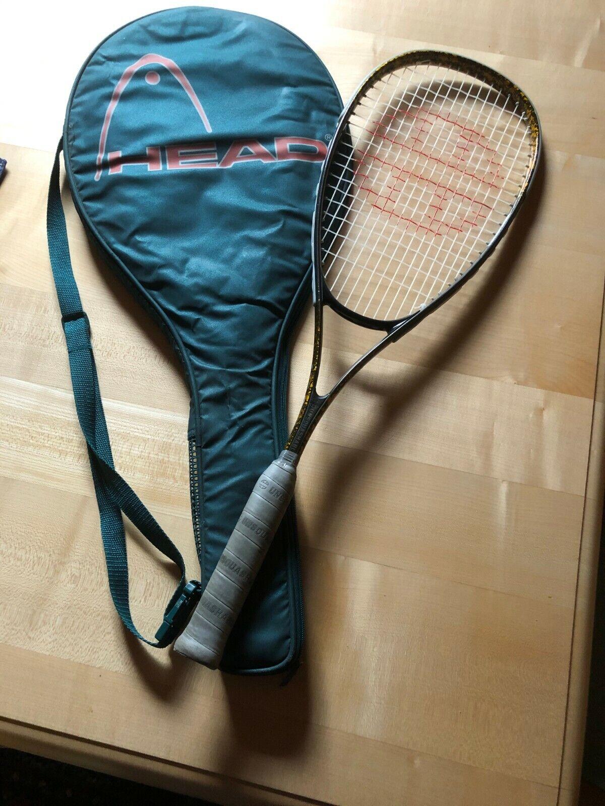Unsquashable - Squash-Schläger - mit Head-Tasche