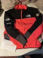 Supreme X The North Face RTG Bright Red Fleece Jacket, Medium