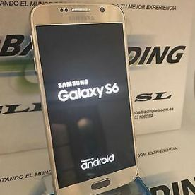 TELEFONO-MOVIL-SAMSUNG-GALAXY-S6-G920F-32GB-ORO-GOLD-GRADO-A