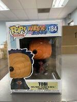Funko POP! Animation: Naruto Shippuden TOBI Figure #184 w/ Protector