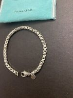 Tiffany & Co. Venetian Box Chain Link Bracelet 925 Sterling Silver