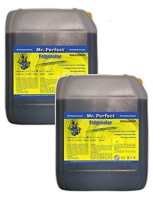Sehr starker Felgenreiniger für Professionelle Felgen Reinigung2x 10 L