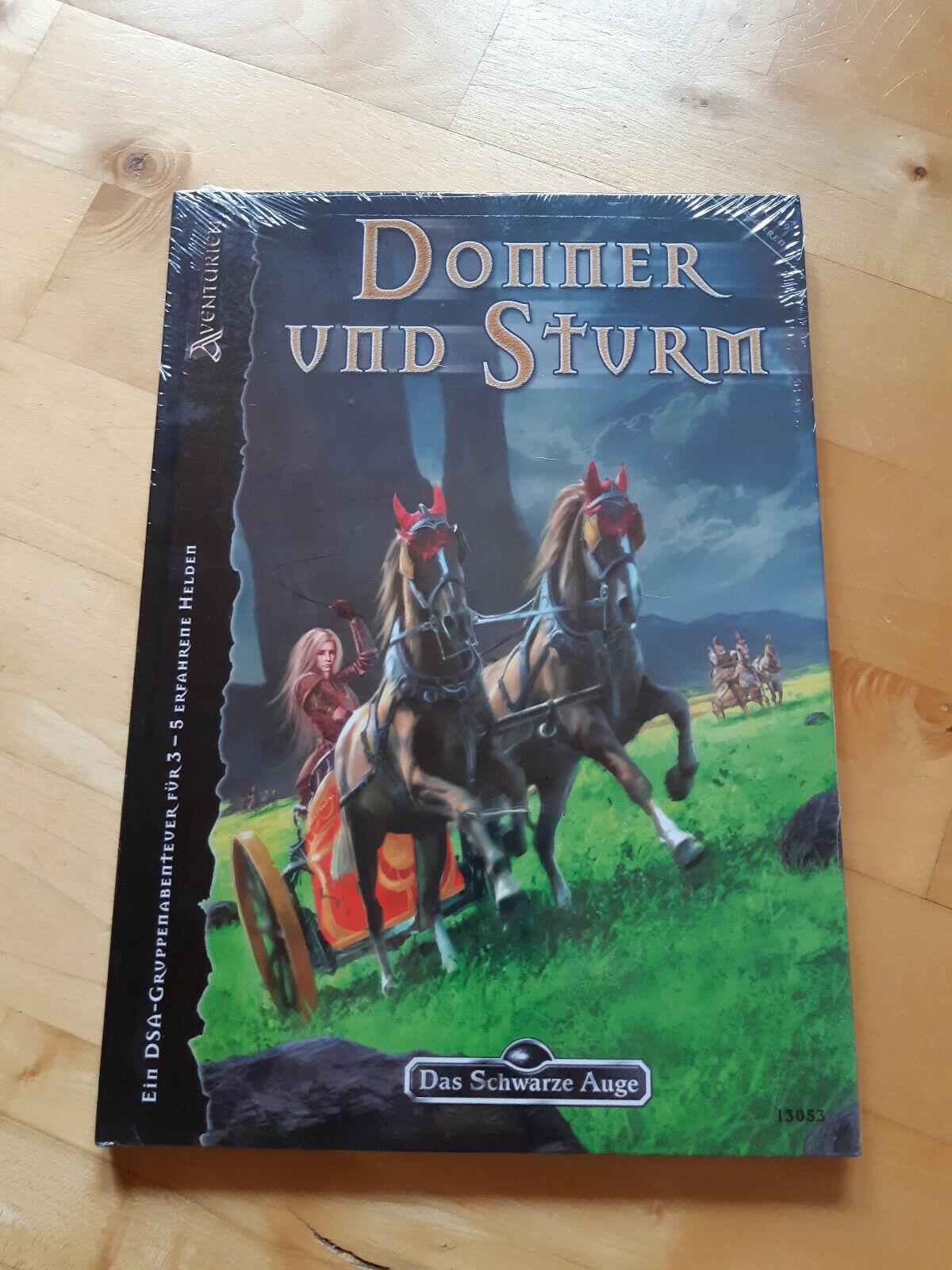DSA - Donner und Sturm (Nr. 169- Erfahren), Das schwarze Auge Abenteuer